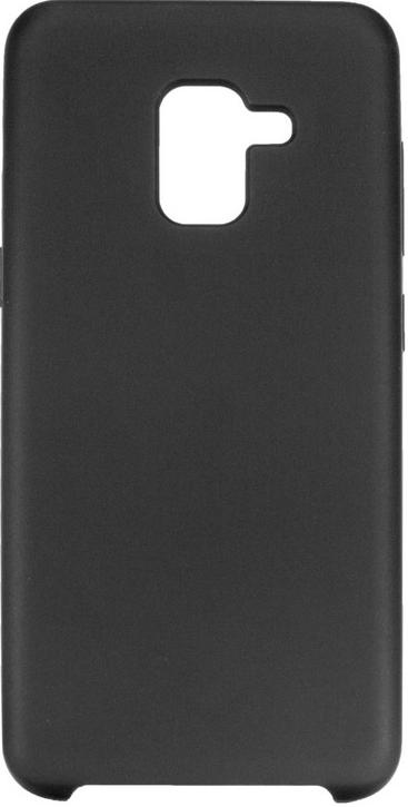 Купить Аксесуари для мобільних телефонів, Чохол ColorWay for Samsung Galaxy A8 2018 A530 - Liquid Silicone Black (CW-CLSSGA530-BK)