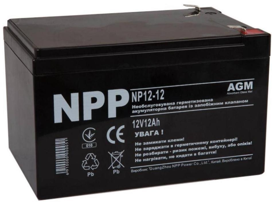 Купить Батарея для ПБЖ NPP NP1212