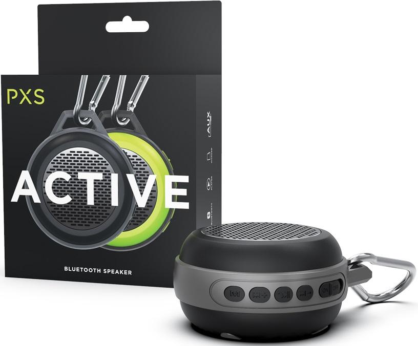 Купить Акустичні системи, Портативна акустика Pixus Active Black (PXS001BK)