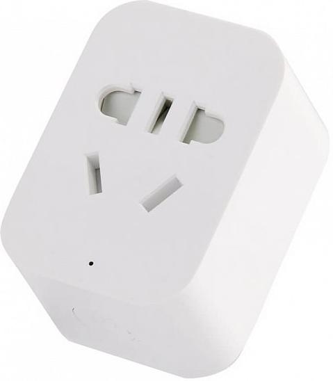 Купить Смарт розетка Xiaomi Mi Smart socket 2 ZigBee Version White (GMR4004CN/GMR4012CN)