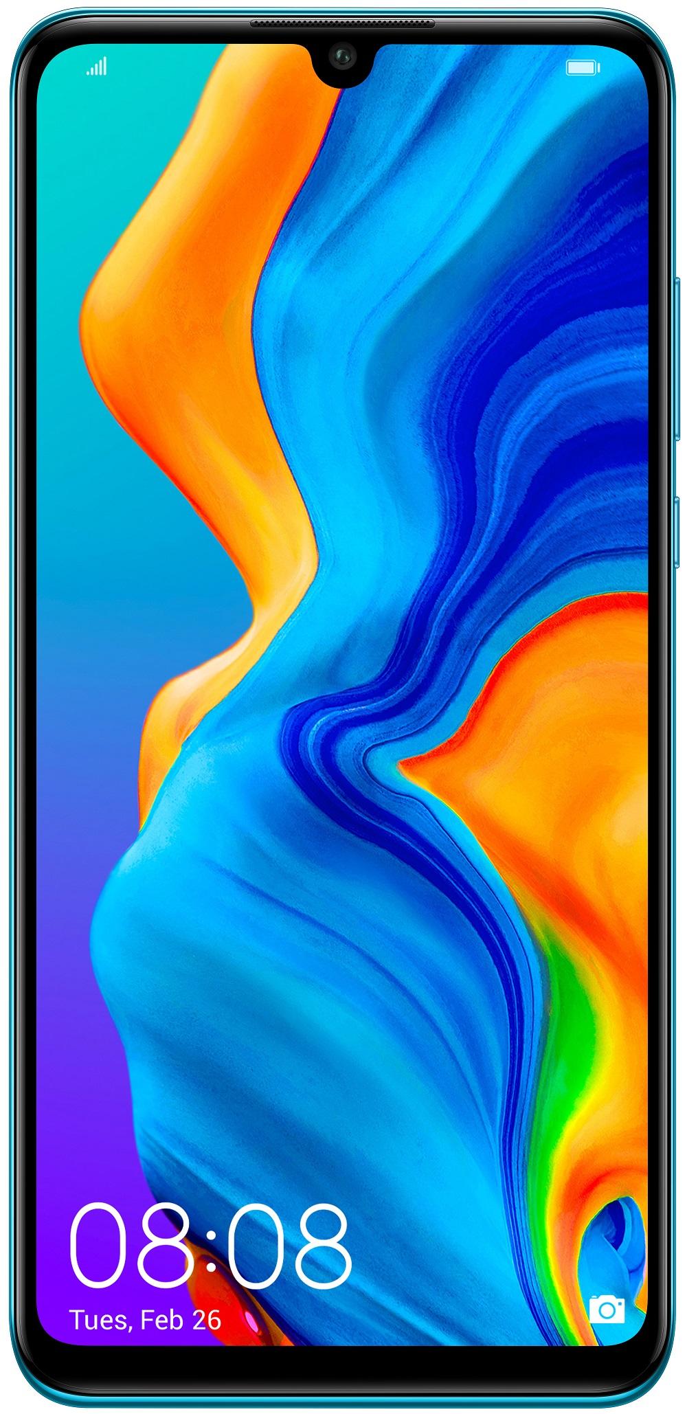 Купить Мобільні телефони, Смартфон Huawei P30 Lite 4/64GB 51094VCL Peacock Blue (51094VBV)