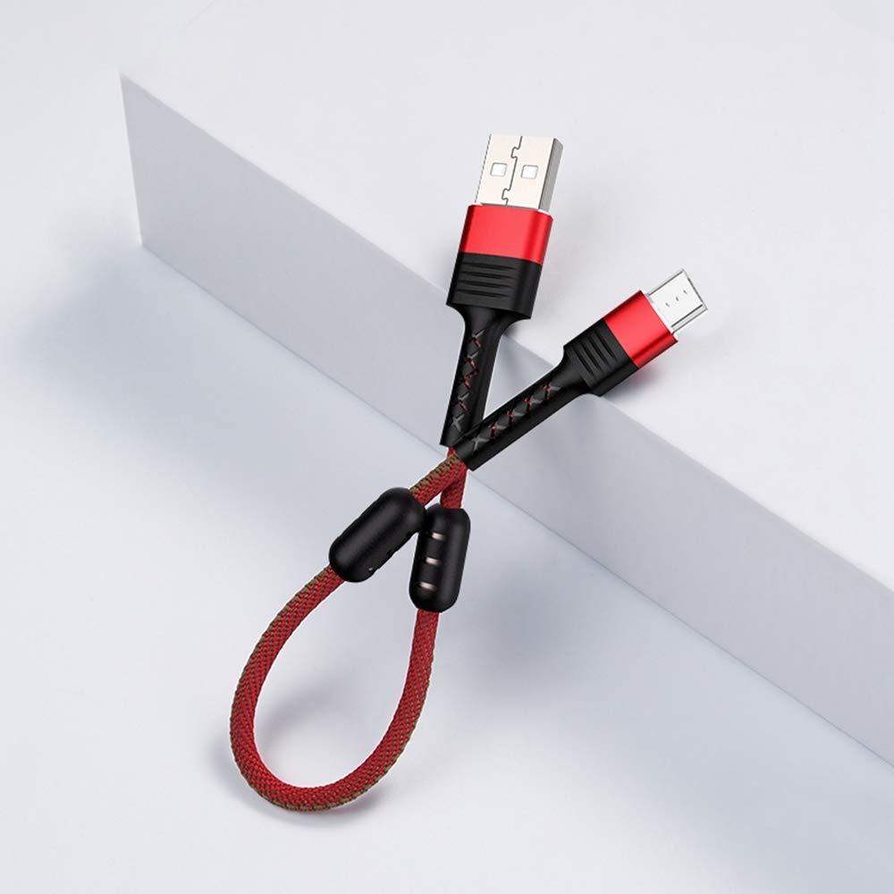 Купить USB кабелі та розгалужувачі, Кабель JoyRoom S-M372 Portable series magnetic short AM / Micro USB 0.15m Red (S-M372 Red)