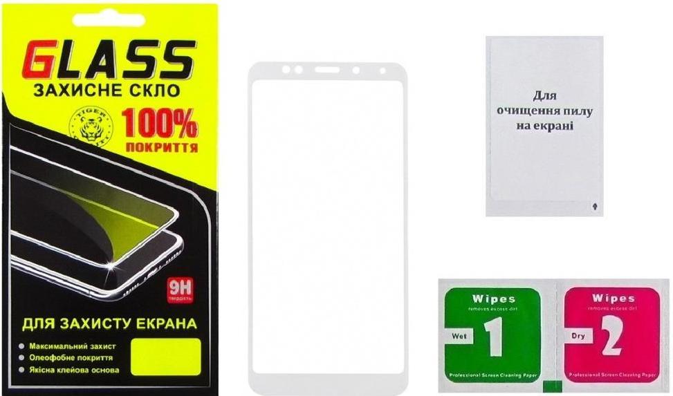 Купить Аксесуари для мобільних телефонів, Захисне скло Masterclub 2.5D for Xiaomi redmi 5 Plus - Full Glue White (14550)