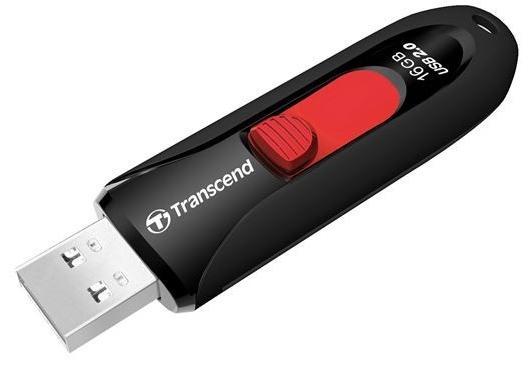 Купить Флешка USB Transcend JetFlash 590 16GB TS16GJF590K Black