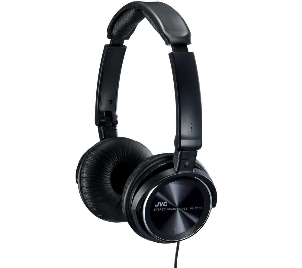 Наушники JVC HA-S360-B-E черные – купить в интернет-магазине KTC ... 0d17b13d6625c