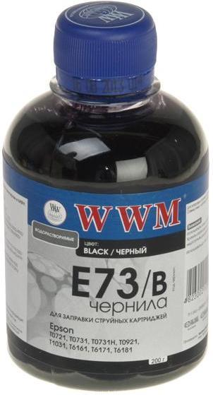 Купить Чорнило WWM E73/B Epson Stylus CX3700, T26, TX106 чорне, E73/B_200g