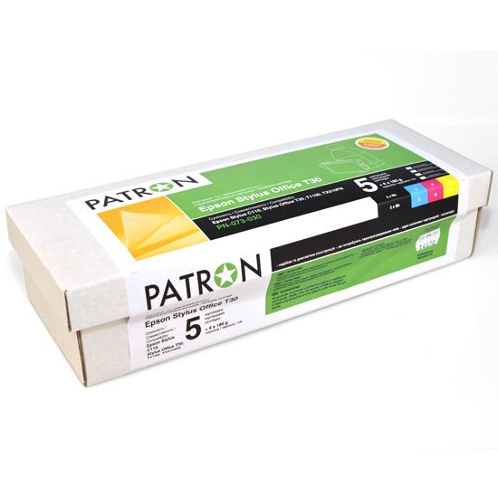 Купить Комплект перезаправних картриджів PATRON Epson Stylus Office T30 з чорнилом, CIR-PN-ET073-030