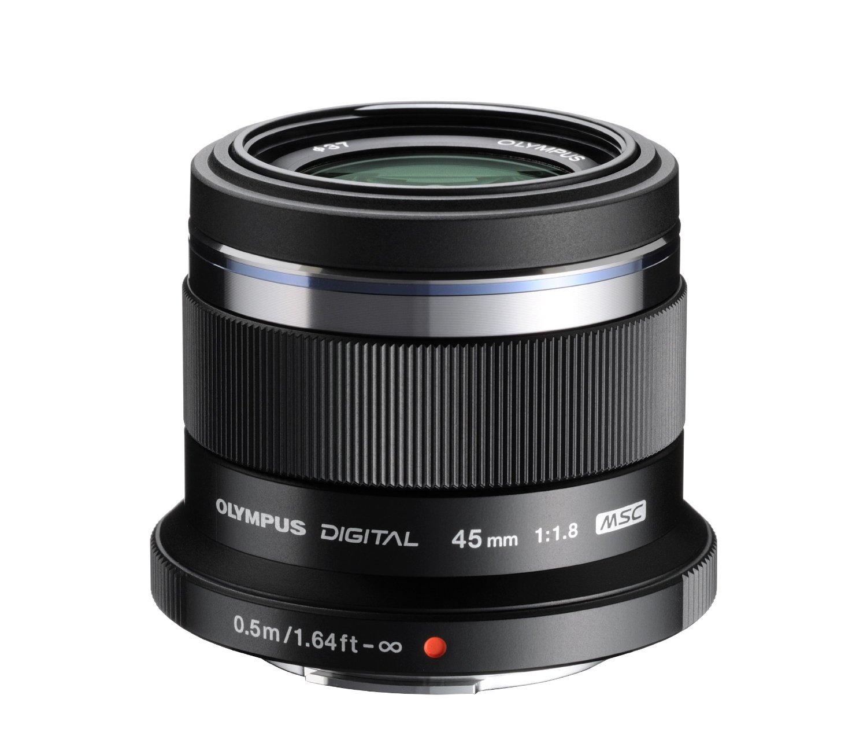 Купить Об'єктив Olympus ET-M4518 45mmf/1:1.8 чорний, V311030BE000