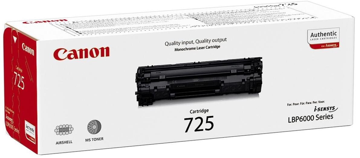 Купить Картридж Canon 725 LBP-6000 чорний, 3484B002