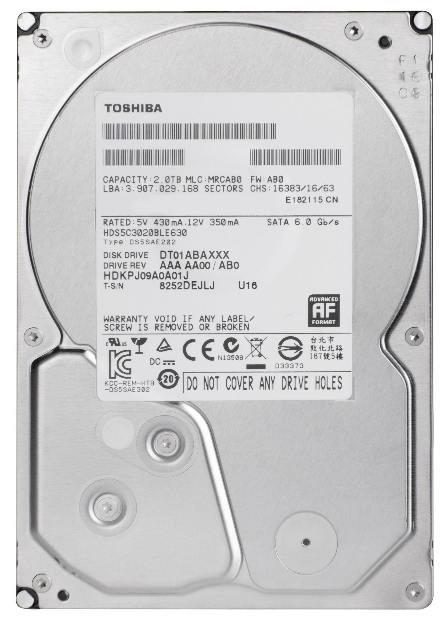 Купить Жорсткий диск Toshiba (DT01ABA200V) 2 ТБ