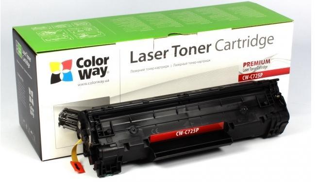 Купить Картриджі, Картридж ColorWay Premium Canon (725) LBP6000/MF3010/ HP CE285A, CW-C725P