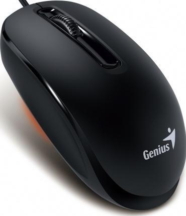 Купить Мишка Genius DX-130 чорна, 31010117100