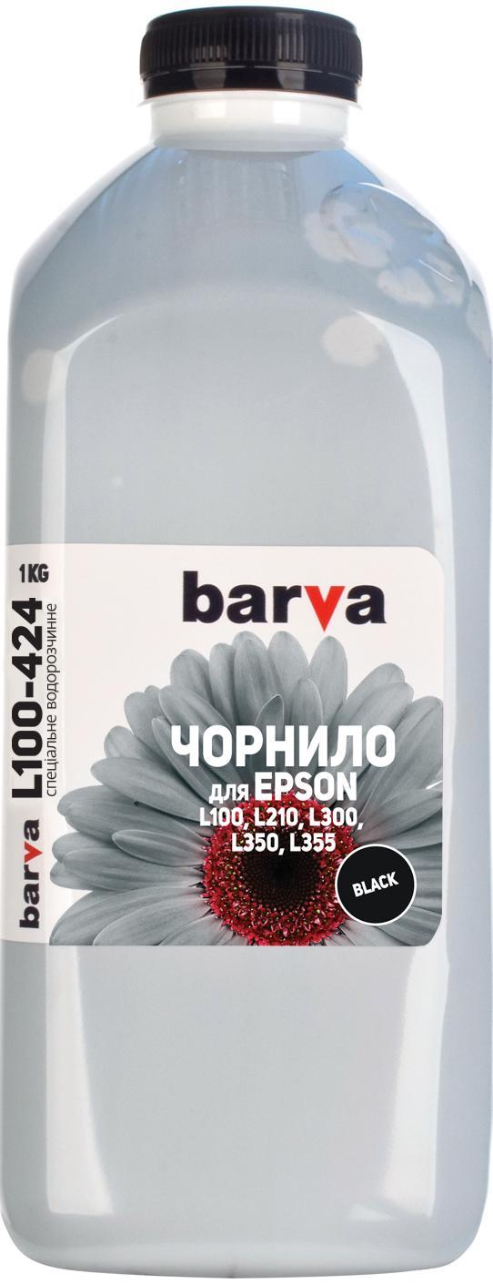 Купить Чорнило BARVA Epson L100/L210/L300/L350/L355 (T6641) чорне, I-BAR-E-L100-1-B