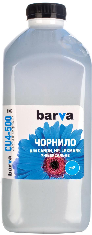 Купить Чорнило BARVA Canon Універсальні №4 1 кг блакитне, I-BAR-CU4-1-C