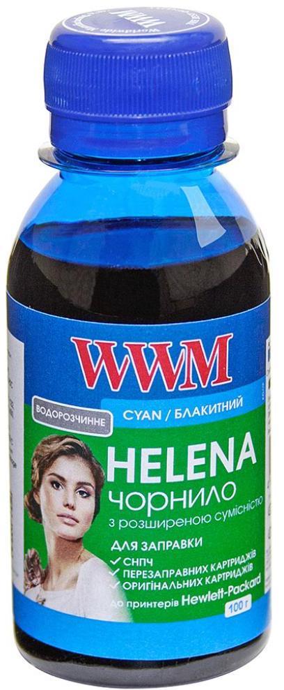 Купить Чорнило WWM HP Universal HELENA HU/C-2 блакитне