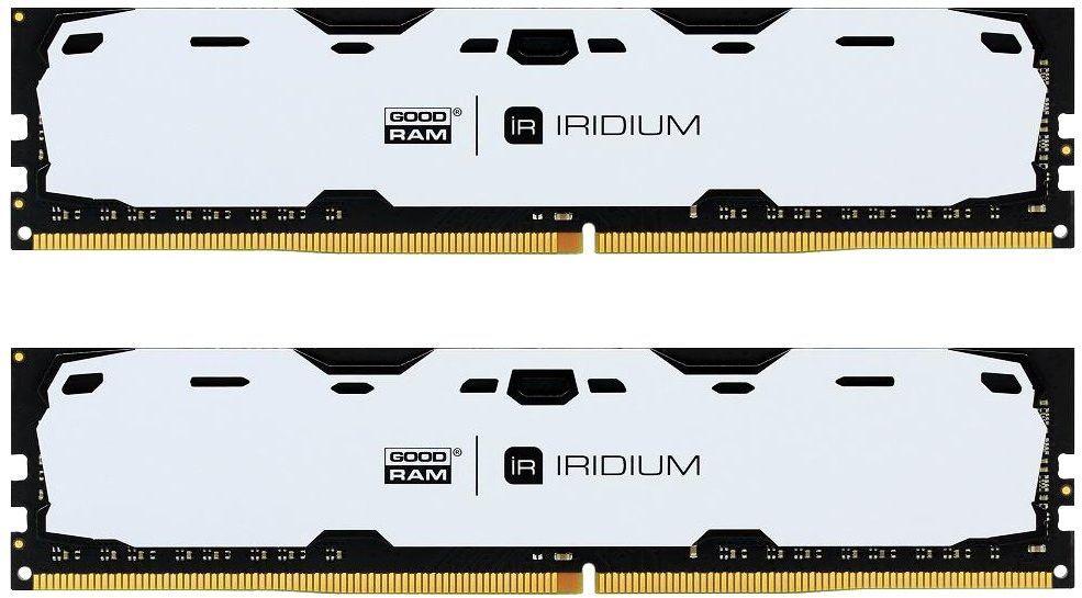 Купить Пам'ять GoodRam Iridium White DDR4 2x8 ГБ (IR-W2400D464L15S/16GDC)