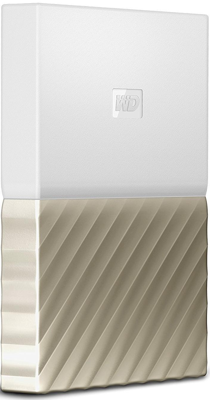 Зовнішній жорсткий диск Western Digital My Passport Ultra 4TB WDBFKT0040BGD-WESN Gold  - купить со скидкой