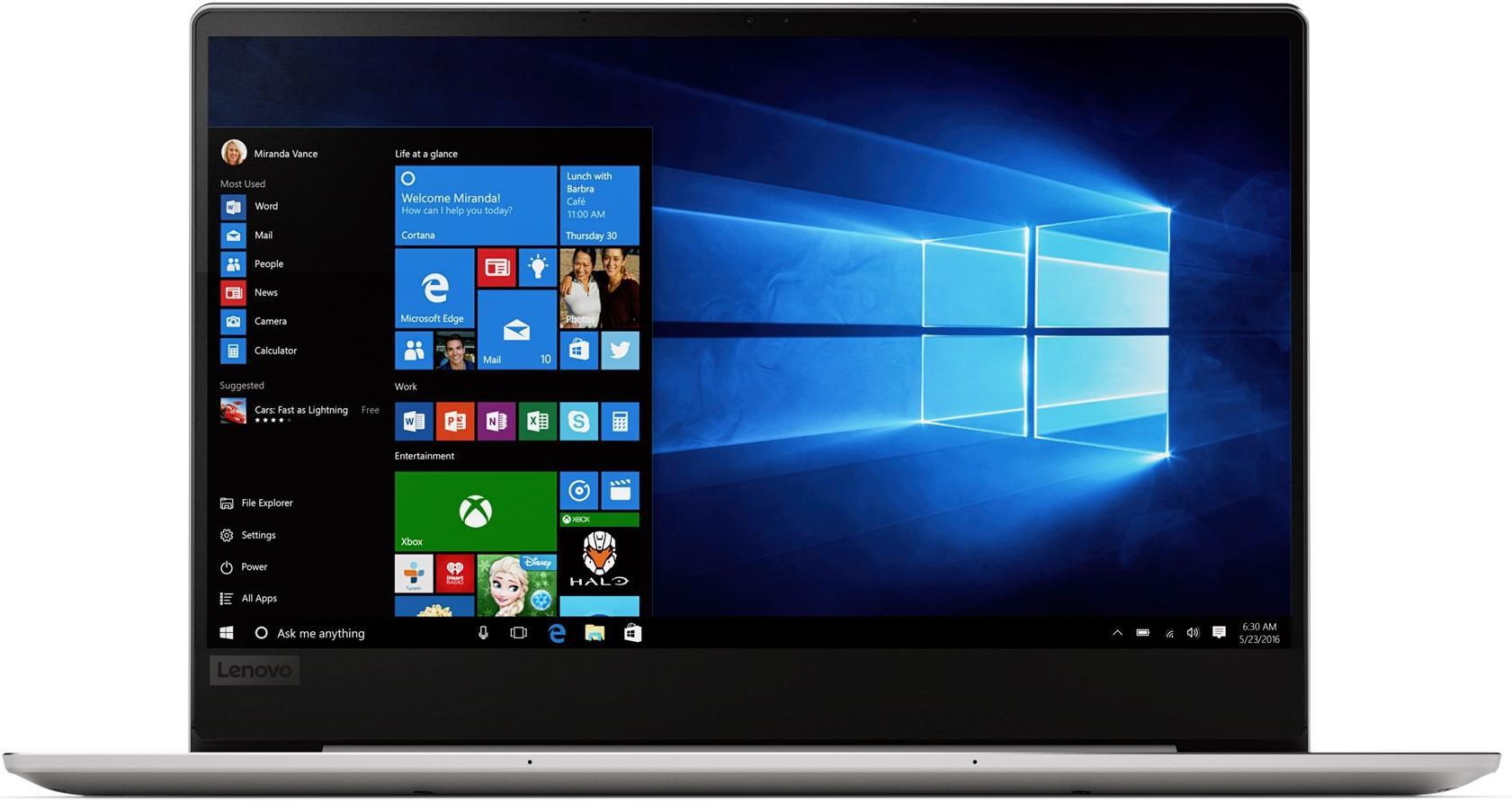 Ноутбук Lenovo IdeaPad 720S-13IKB 81BV007SRA Platinum