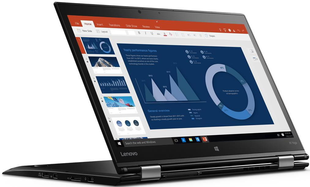 Купить Ноутбук Lenovo Yoga X1 2nd Gen 20JD005DRK
