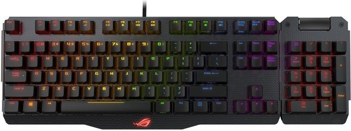 Купить Клавіатура ASUS Rog Claymore USB MX Cherry Black (90MP00E0-B0UA00)