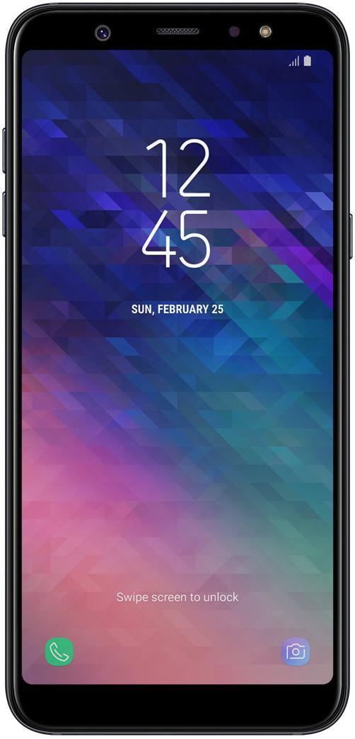 Купить Смартфон Samsung Galaxy A6 Plus 2018 3/32GB SM-A605FZKNSEK Black