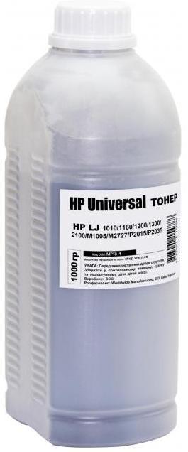 Купить Тонер SCC for HP LJ Universal бутль 1000g, MPT8-1, Static Control