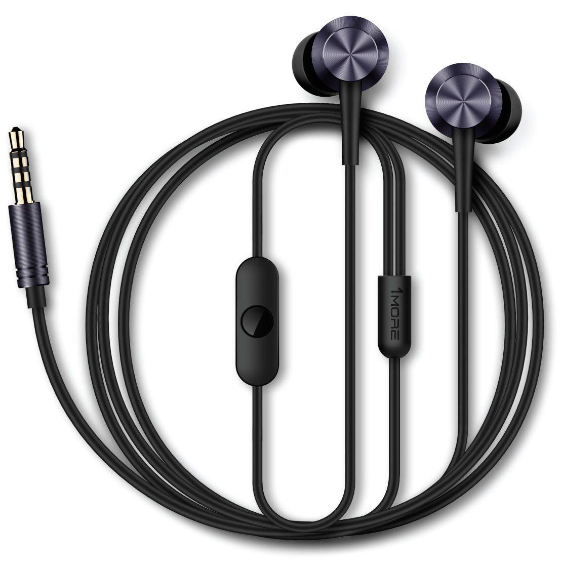 Купить Навушники та гарнітури, Гарнітура 1more Piston Fit Gray (360028)