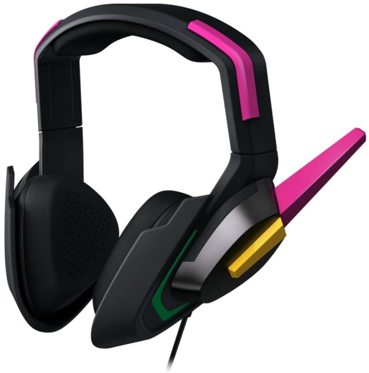 Купить Навушники та гарнітури, Гарнітура Razer D.Va Meka Black/Pink (RZ04-02400100-R3M1)