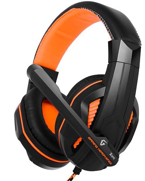 Купить Гарнітура Gemix X-370 Black-Orange