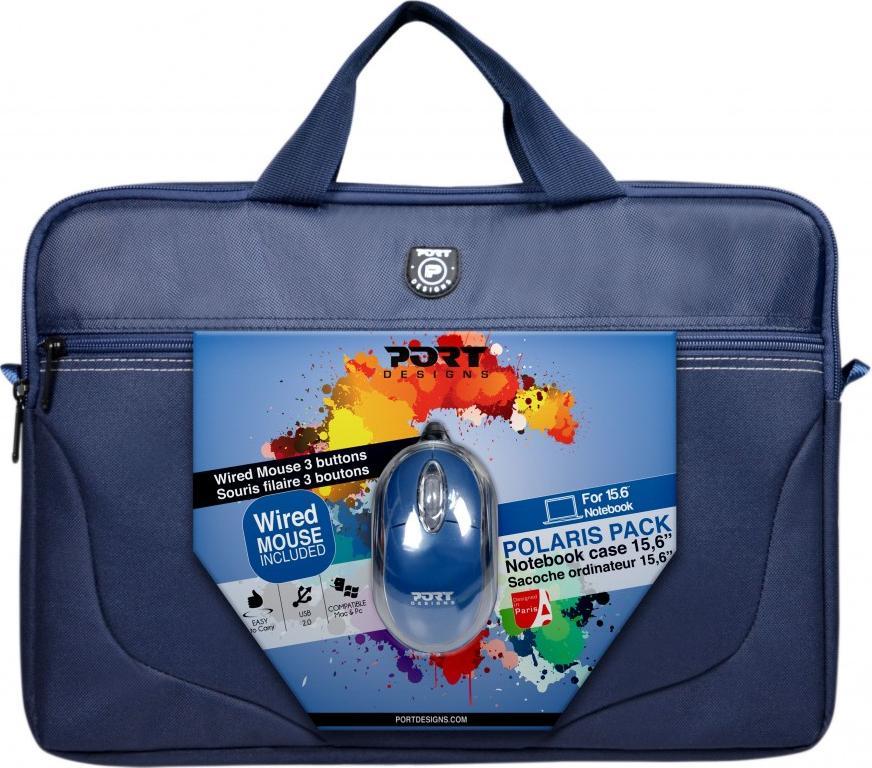 Купить Сумка для ноутбука Port Design Polaris Bandle Blue, 501732, PORT DESIGNS