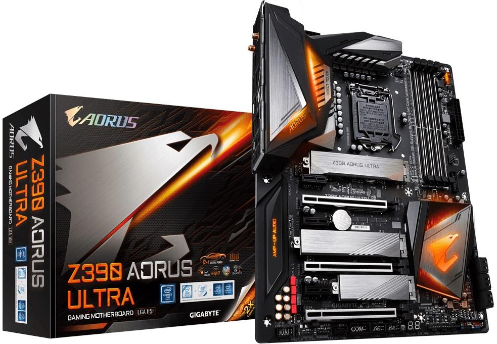 Купить Материнська плата Gigabyte Z390 Aorus Ultra (Z390 AORUS ULTRA)