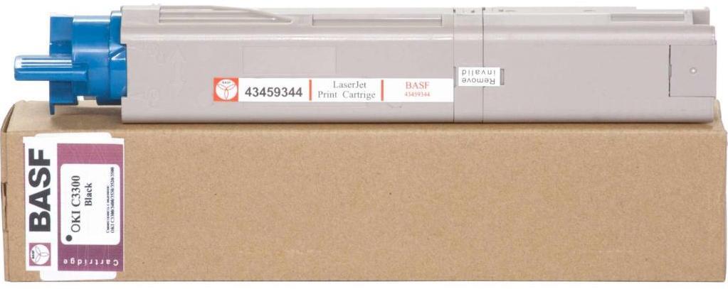 Картридж BASF for OKI C3300/3400 аналог 43459348 Black (BASF-KT-C3300B-43459348)
