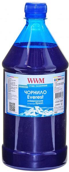 Купить Чорнило WWM for Epson Everest (Cyan Pigmented) 1000g (EP02/CP-3)