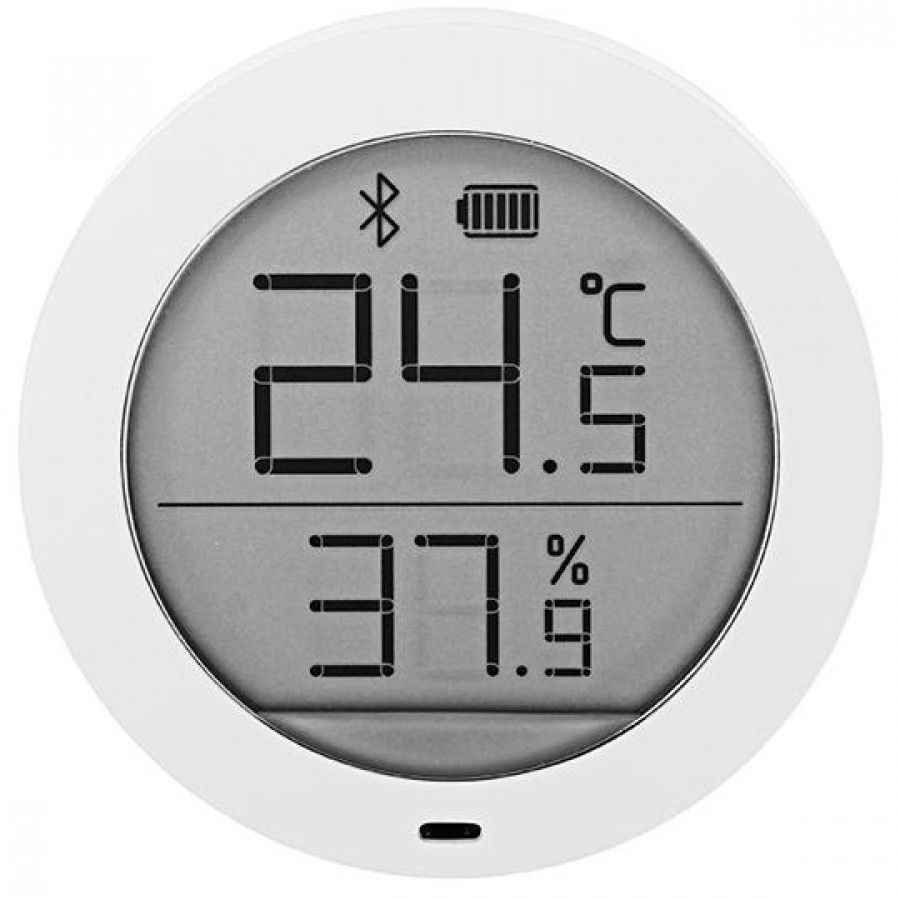 Купить Метеостанція Xiaomi Mi Smart Temperature & Humidity Monitor (LYWSDCGQ01ZM) White, NUN4013CN