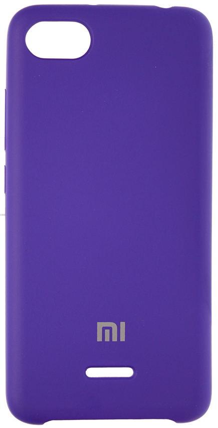 Чохол HiC for Xiaomi Redmi 6A - Silicone Case Purple  (SCXR6A-30)