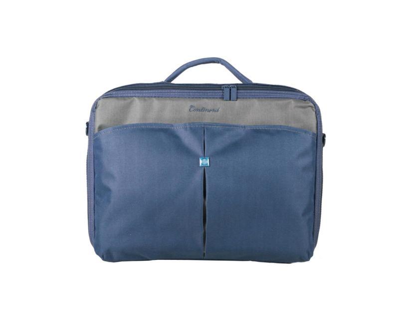 Купить Сумка для ноутбука Continent CC-02 синя, CC-02 _Navy