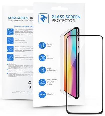 Купить Аксесуари для мобільних телефонів, Захисне скло 2E 3D for Xiaomi Mi A3 - Basic FG Black (2E-MI-A3-IB3DFG-BB)