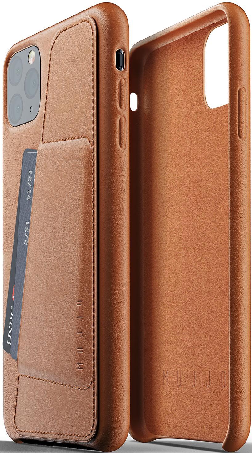 Купить Аксесуари для мобільних телефонів, Чохол MUJJO for iPhone 11 Pro Max - Full Leather Wallet Tan (MUJJO-CL-004-TN)