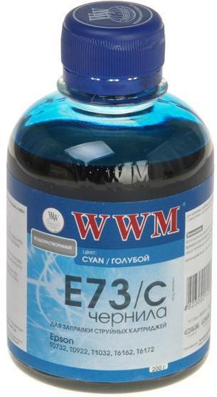 Купить Чорнило WWM E73/C Epson Stylus CX3700, T26, TX106 блакитне, E73/C_200g