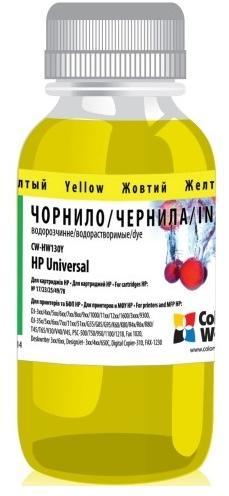 Купить Чорнило ColorWay CW-HW130Y01 HP Universal жовте