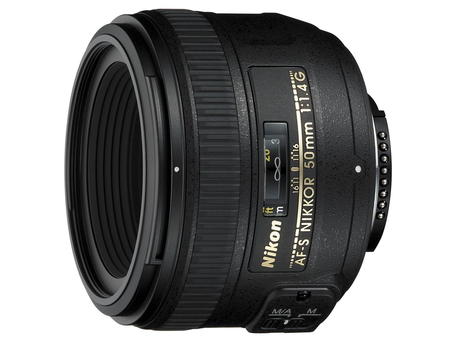 Купить Об'єктив Nikkor AF-S 50mm f/1.4G, JAA014DA