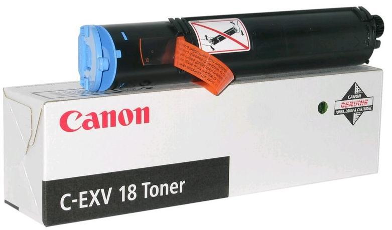 Купить Картридж Canon C-EXV18 Canon iR-1018, 1018J, 1022A, 1022F, 1022, 1022iF чорний, 0386B002