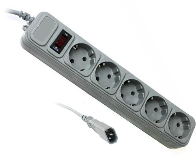 Купить Мережевий фільтр Gembird SPG5-X-6G 5/1.8