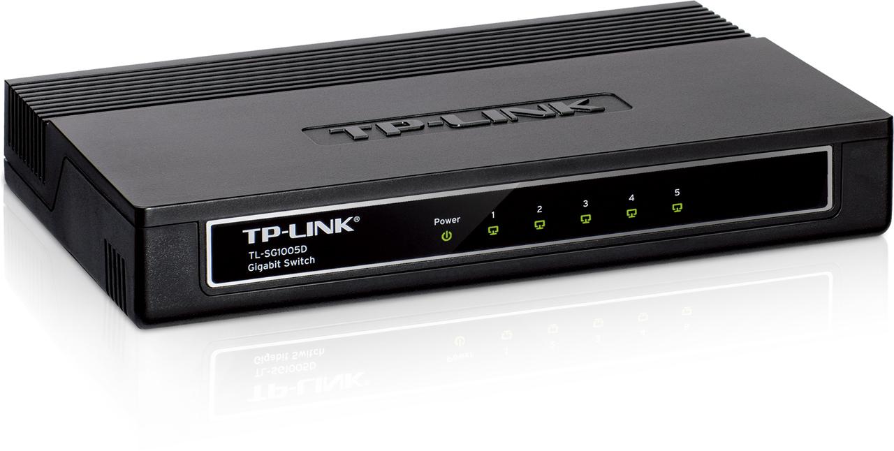 Купить Комутатор TP-Link TL-SG1005D