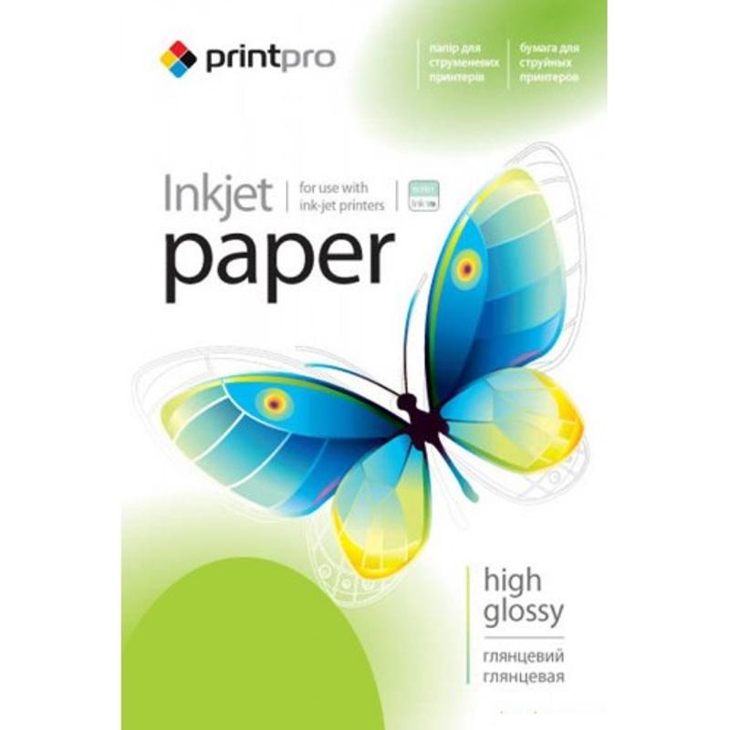 Купить Фотопапір A4 PrintPro глянсовий 20 аркушів (PGE200020A4)