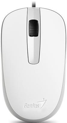 Мишка Genius DX-120 біла, 31010105102  - купить со скидкой
