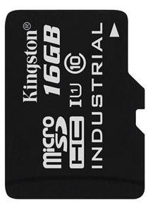Купить Flash пам'ять, Карта пам'яті Kingston Industrial Micro SDHC 16 ГБ (SDCIT/16GBSP)
