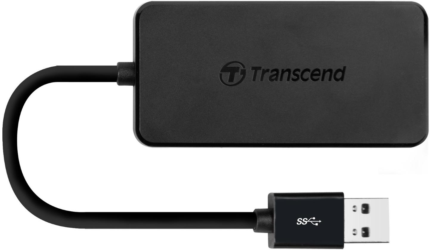 Купить USB кабелі та розгалужувачі, USB-хаб Transcend TS-HUB2K