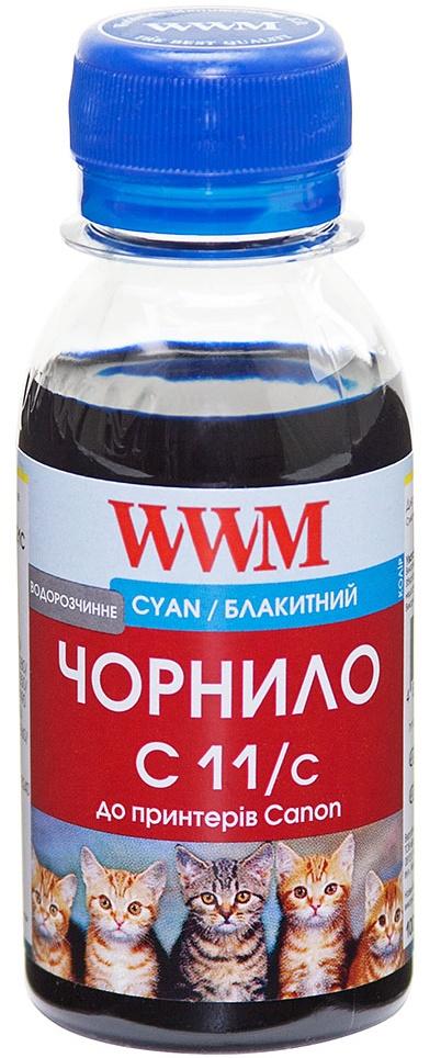 Купить Чорнило WWM C11/C-2 Canon CL-511С/CL-513С/CLI-521C блакитне