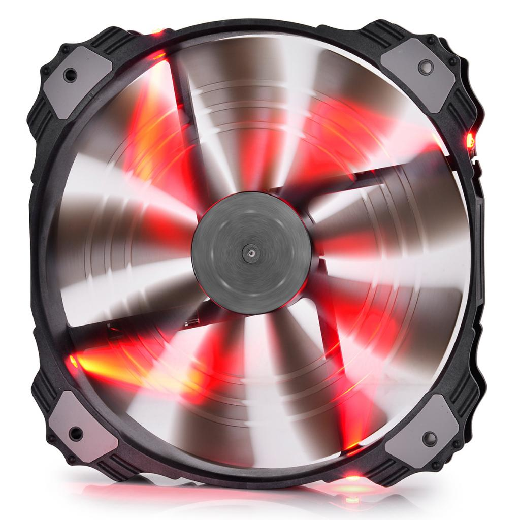 Купить Вентилятор для корпуса Deepcool X-FAN200RD червоний, XFAN200RD